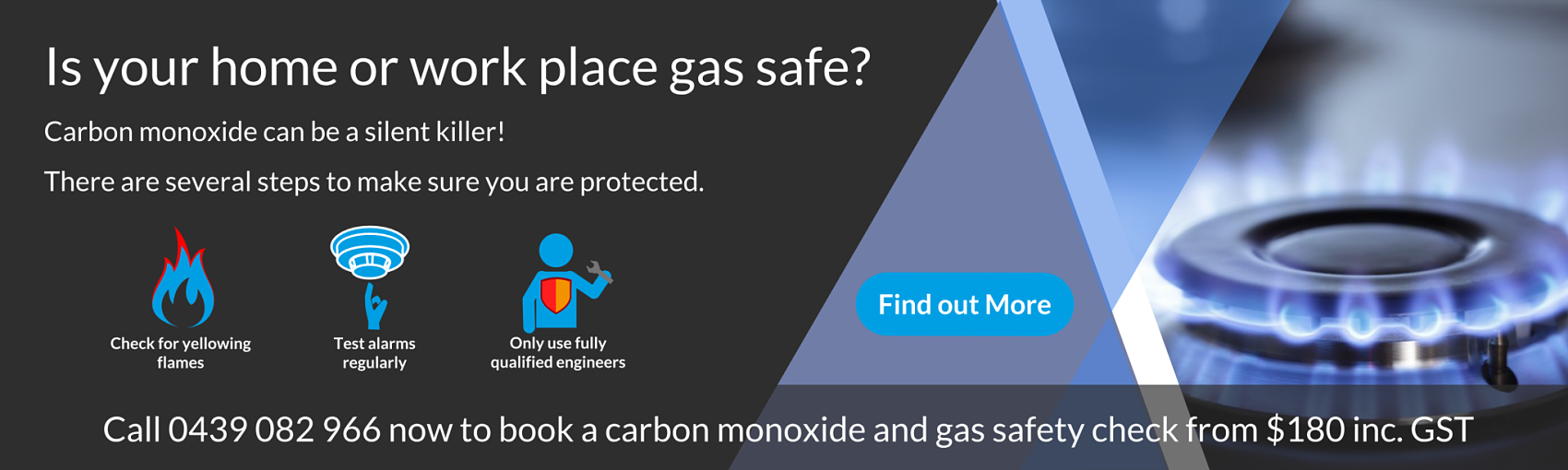 Carbon monoxide can be a silent killer