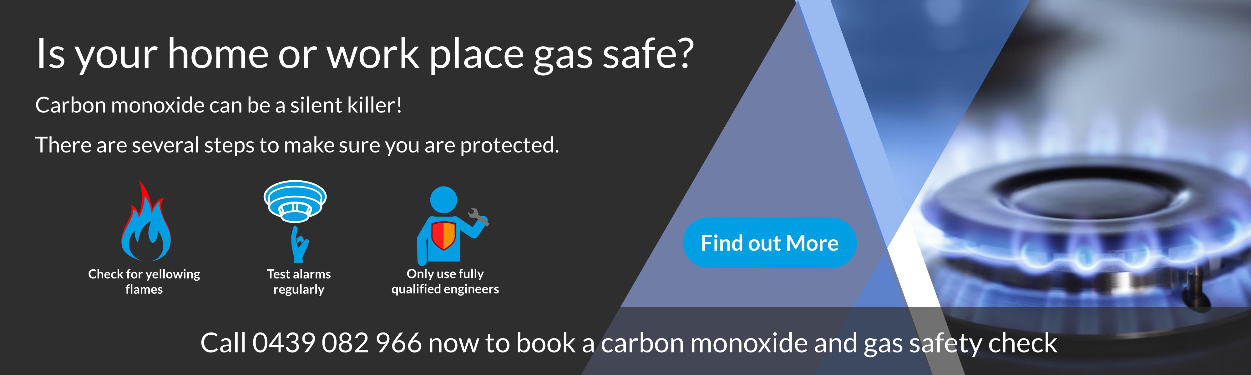 Carbon Monoxide can be a silent killer
